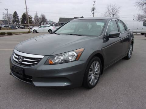 2012 Honda Accord for sale at Ideal Auto Sales, Inc. in Waukesha WI