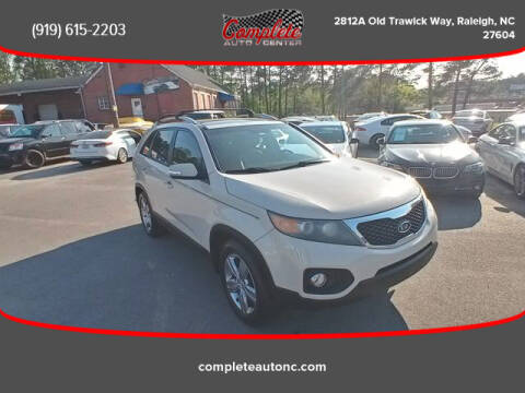 2012 Kia Sorento for sale at Complete Auto Center , Inc in Raleigh NC