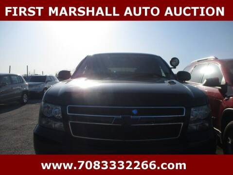 2008 Chevrolet Tahoe for sale at First Marshall Auto Auction in Harvey IL