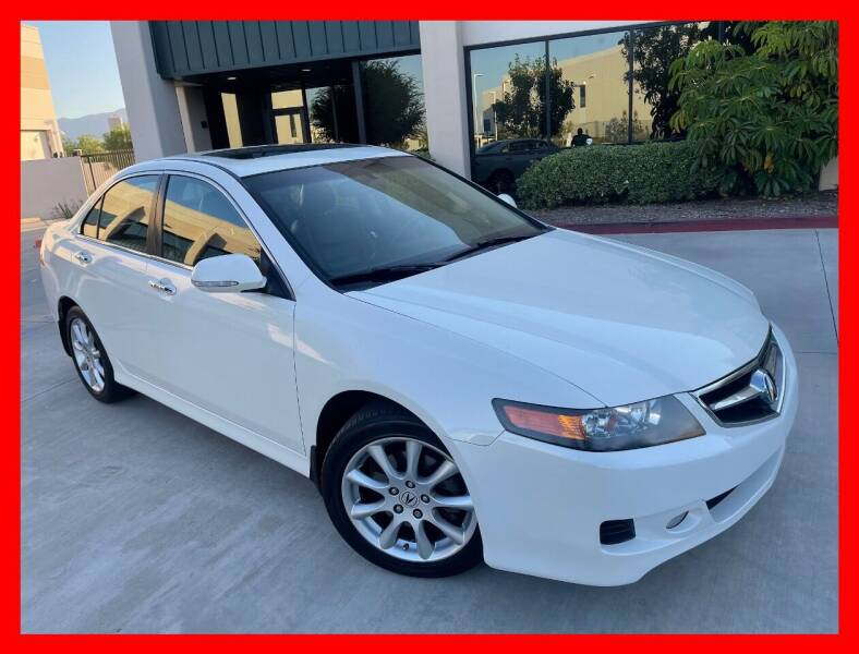 2008 Acura TSX for sale at Cruise Autos in Corona CA