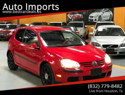 2007 Volkswagen Rabbit for sale at Auto Imports in Houston TX