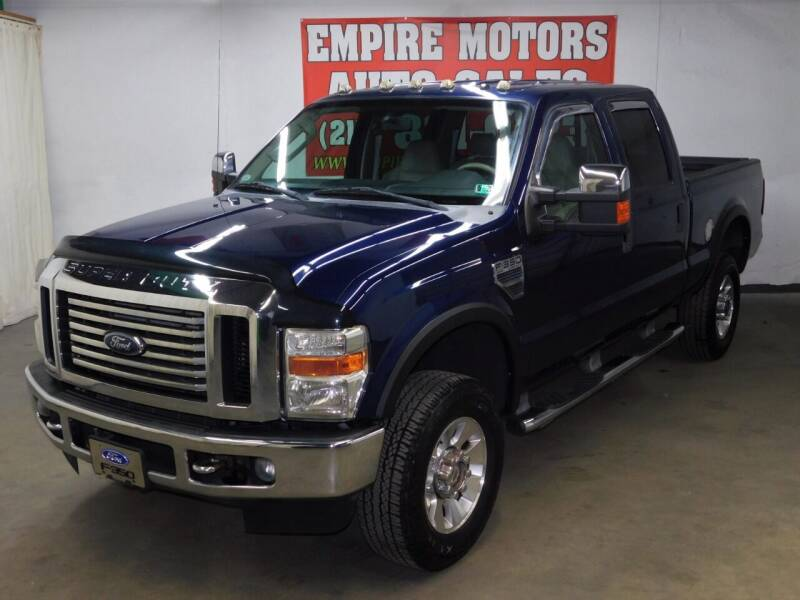 2008 Ford F-350 Super Duty for sale at EMPIRE MOTORS AUTO SALES in Philadelphia PA