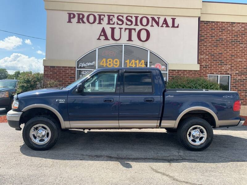 2002 Ford F-150 for sale at Professional Auto Sales & Service in Fort Wayne IN