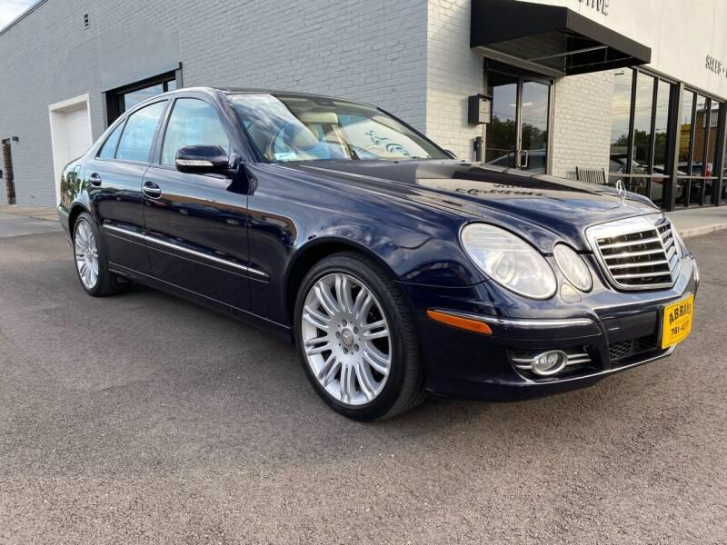 2008 Mercedes-Benz E-Class for sale at Abrams Automotive Inc in Cincinnati OH