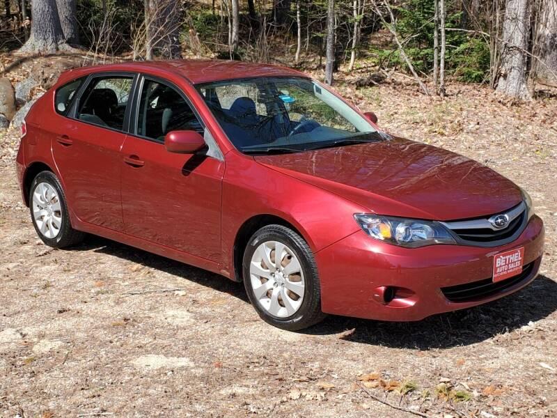 2010 Subaru Impreza for sale at Bethel Auto Sales in Bethel ME