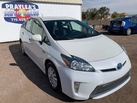 2012 Toyota Prius Plug-in Hybrid for sale at Praylea's Auto Sales in Peyton CO