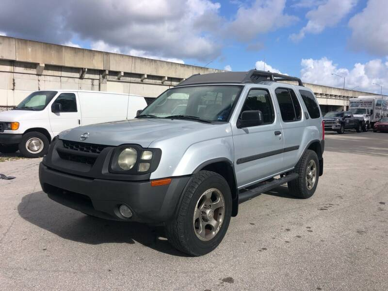 2002 Nissan Xterra for sale at Florida Cool Cars in Fort Lauderdale FL