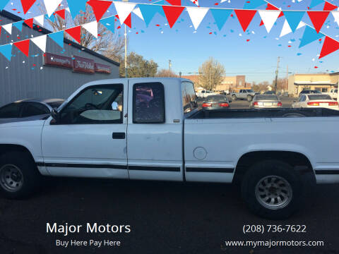 1992 Chevrolet C/K 1500 Series for sale at Major Motors in Twin Falls ID