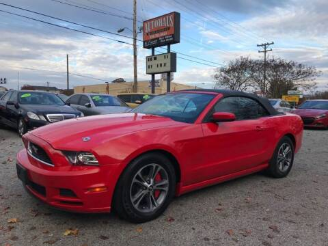 2014 Ford Mustang for sale at Autohaus of Greensboro in Greensboro NC