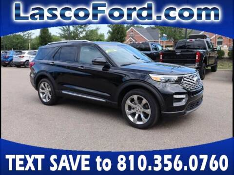 2020 Ford Explorer for sale at Lasco of Grand Blanc in Grand Blanc MI