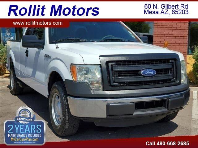 2014 Ford F-150 for sale at Rollit Motors in Mesa AZ