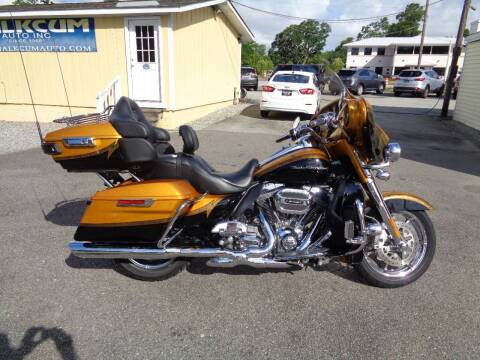 2015 Harley-Davidson CVO for sale at BALKCUM AUTO INC in Wilmington NC