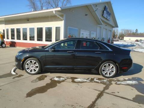 2013 Lincoln MKZ Hybrid for sale at Milaca Motors in Milaca MN
