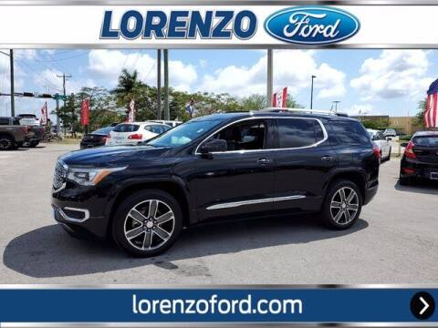 2018 GMC Acadia for sale at Lorenzo Ford in Homestead FL