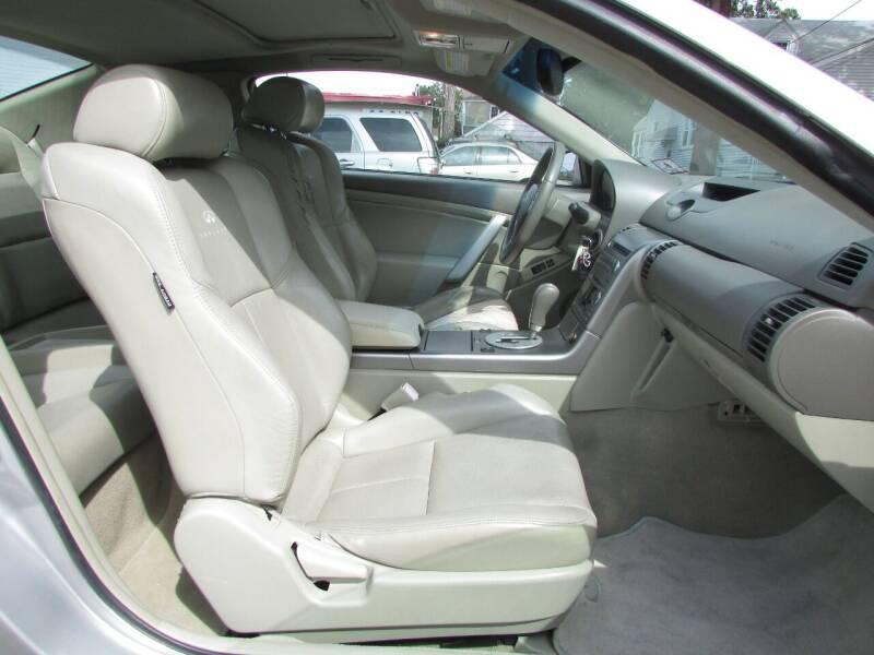 2004 Infiniti G35 RWD 2dr Coupe - Linden NJ