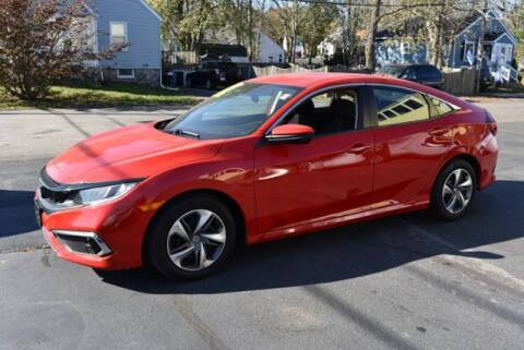 2019 Honda Civic for sale at Absolute Auto Sales, Inc in Brockton MA