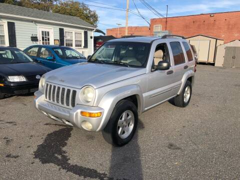 2004 Jeep Liberty for sale at LINDER'S AUTO SALES in Gastonia NC