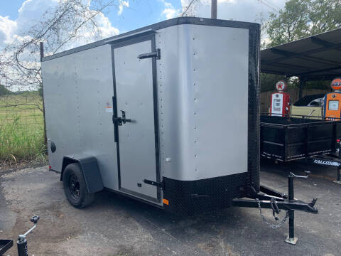 2022 CARGO CRAFT 6X12 RAMP for sale at Trophy Trailers in New Braunfels TX