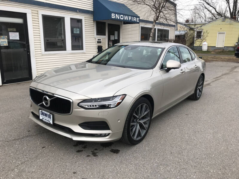 2017 Volvo S90 for sale at Snowfire Auto in Waterbury VT