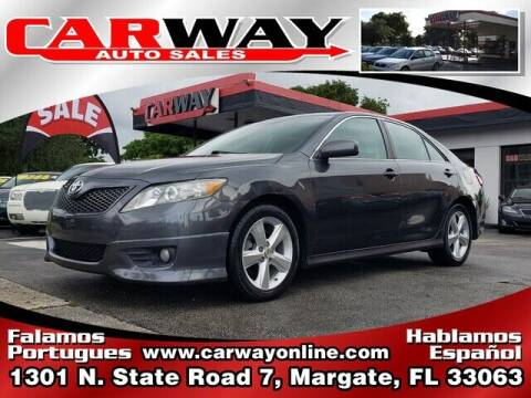 2010 Toyota Camry for sale at CARWAY Auto Sales in Margate FL
