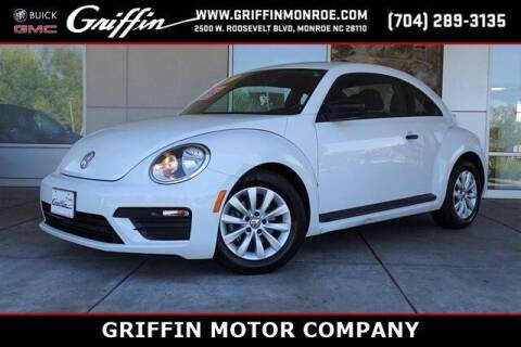 2017 Volkswagen Beetle for sale at Griffin Buick GMC in Monroe NC