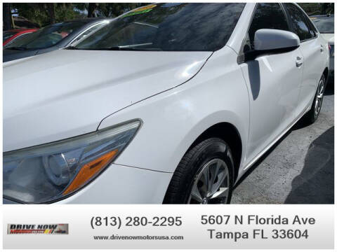 2015 Toyota Camry for sale at Drive Now Motors USA in Tampa FL