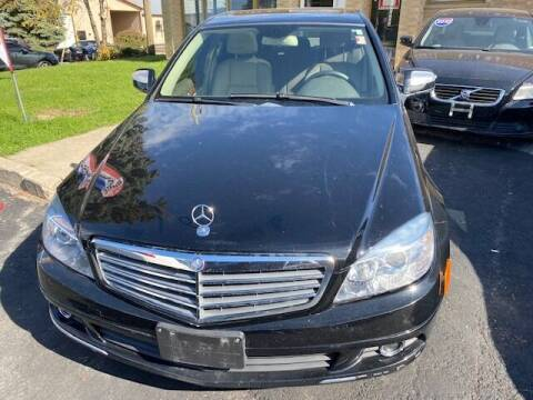 2009 Mercedes-Benz C-Class for sale at NORTH CHICAGO MOTORS INC in North Chicago IL