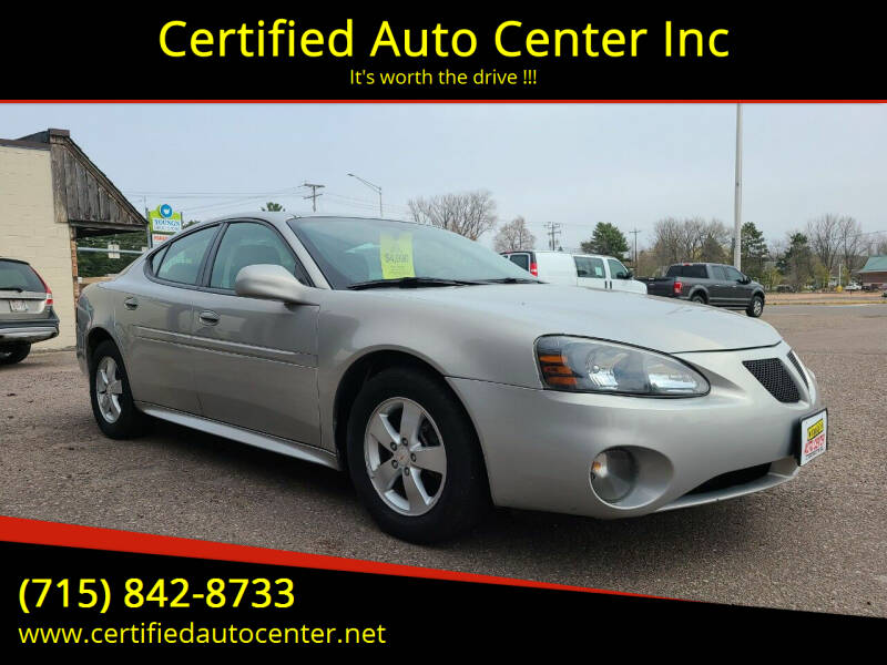 2007 Pontiac Grand Prix for sale at Certified Auto Center Inc in Wausau WI