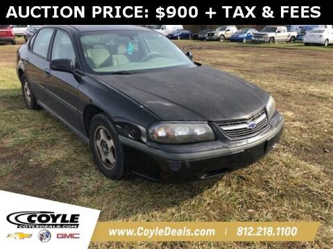 2004 Chevrolet Impala for sale at COYLE GM - COYLE NISSAN - Coyle Nissan in Clarksville IN