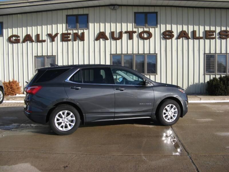 2019 Chevrolet Equinox for sale at Galyen Auto Sales Inc. in Atkinson NE