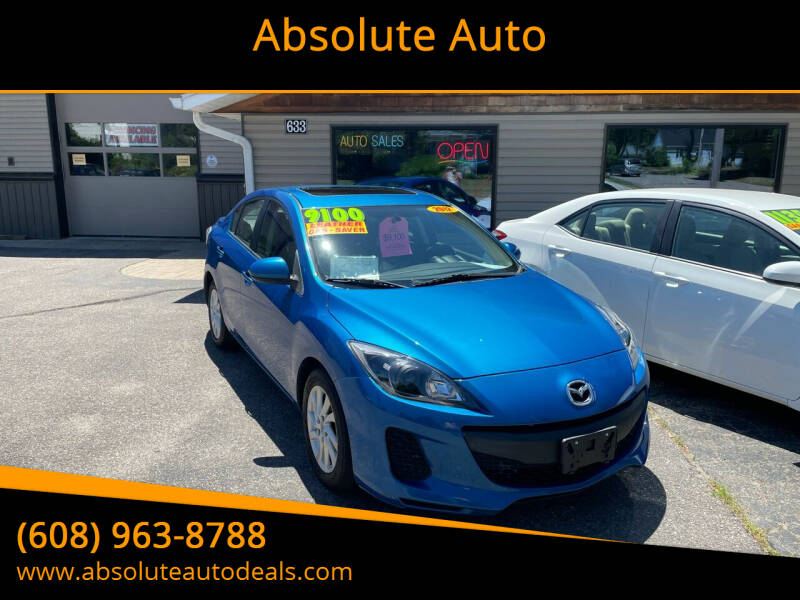 2012 Mazda MAZDA3 for sale at Absolute Auto in Baraboo WI
