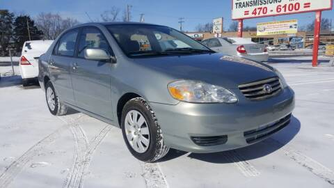 2004 Toyota Corolla for sale at Nile Auto in Columbus OH