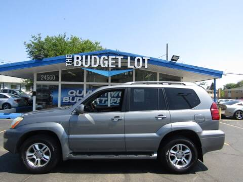 2006 Lexus GX 470 for sale at THE BUDGET LOT in Detroit MI