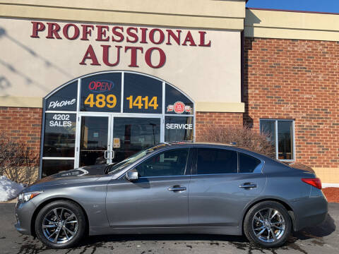 2017 Infiniti Q50 for sale at Professional Auto Sales & Service in Fort Wayne IN