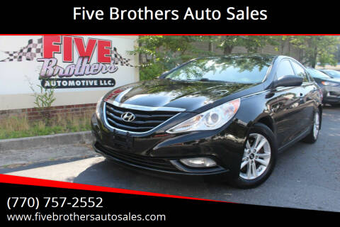 2013 Hyundai Sonata for sale at Five Brothers Auto Sales in Roswell GA