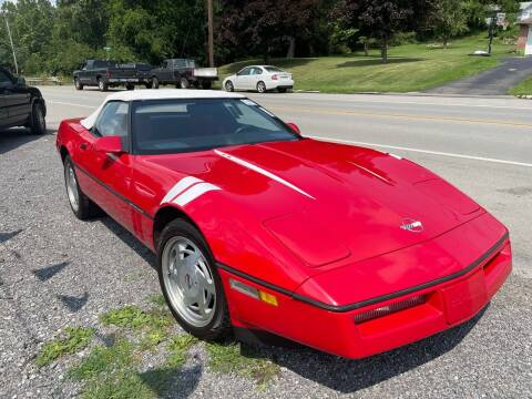 1988 Chevrolet Corvette for sale at Trocci's Auto Sales in West Pittsburg PA