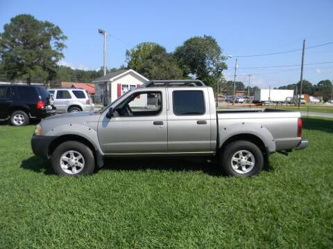 2001 Nissan Frontier for sale at SeaCrest Sales, LLC in Elizabeth City NC