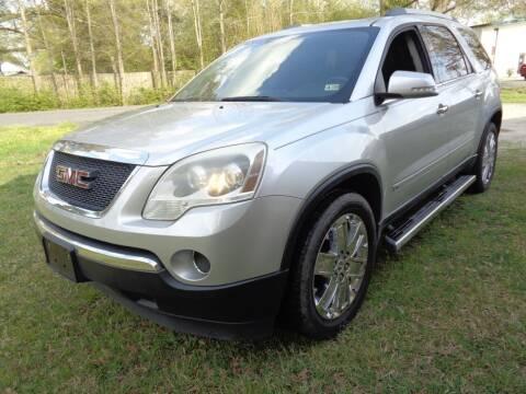 2010 GMC Acadia for sale at Liberty Motors in Chesapeake VA