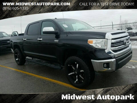 2014 Toyota Tundra for sale at Midwest Autopark in Kansas City MO