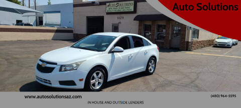 2013 Chevrolet Cruze for sale at Auto Solutions in Mesa AZ