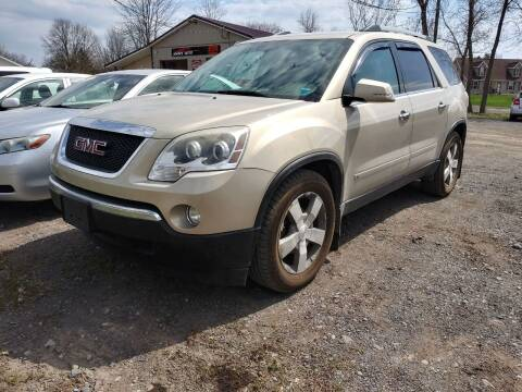 2010 GMC Acadia for sale at John's Auto Sales & Service Inc in Waterloo NY