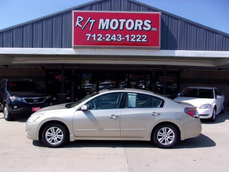 2010 Nissan Altima for sale at RT Motors Inc in Atlantic IA