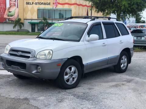 2005 Hyundai Santa Fe for sale at Pro Cars Of Sarasota Inc in Sarasota FL