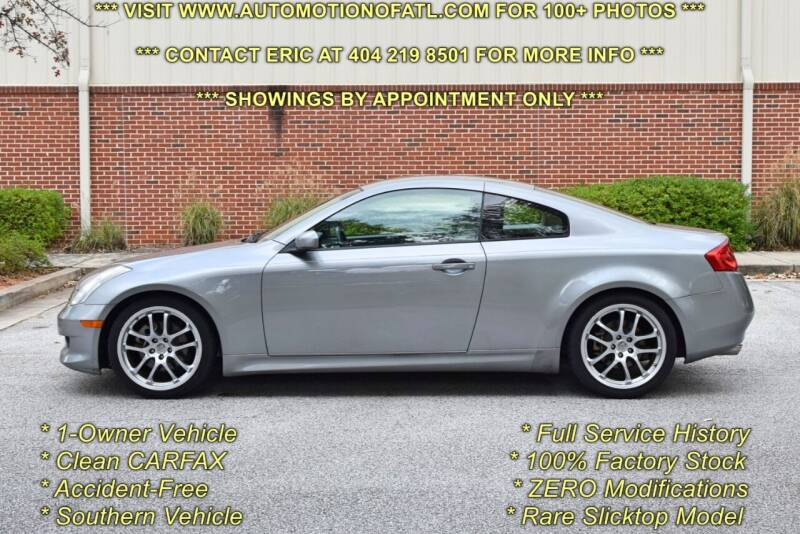 2006 Infiniti G35 for sale at Automotion Of Atlanta in Conyers GA