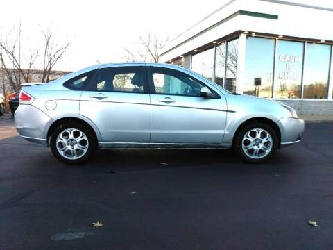 2008 Ford Focus for sale at Hilltop Auto in Clare MI