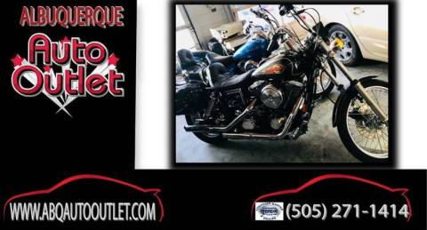 1997 Harley-Davidson FXDWG for sale at ALBUQUERQUE AUTO OUTLET in Albuquerque NM