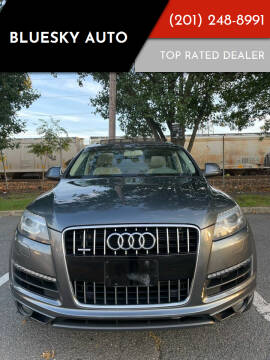 2015 Audi Q7 for sale at Bluesky Auto in Bound Brook NJ