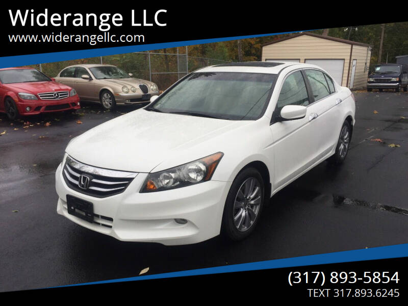 2012 Honda Accord for sale at Widerange LLC in Greenwood IN