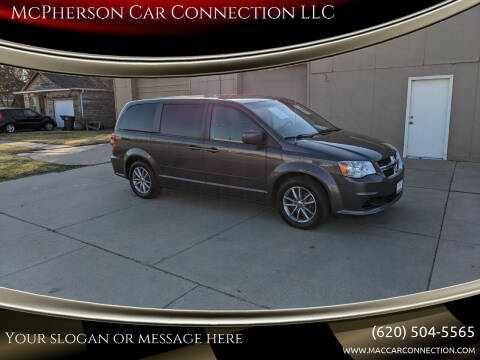 2016 Dodge Grand Caravan for sale at McPherson Car Connection LLC in Mcpherson KS