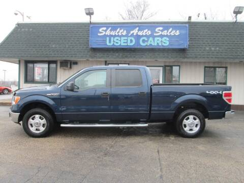 2014 Ford F-150 for sale at SHULTS AUTO SALES INC. in Crystal Lake IL